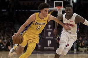 Lakers ride balanced attack to halt skid and snap Pistons ...