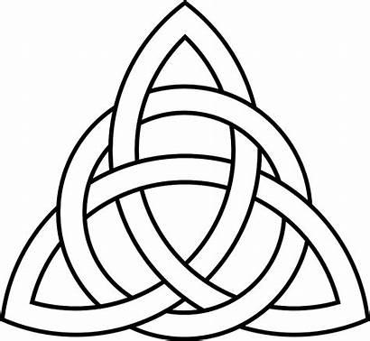 Celtic Knot Clip Transparent Triquetra Trinity Clipart