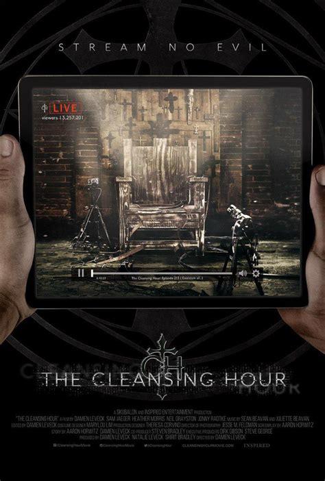 cleansing hour short horror film trailer  poster