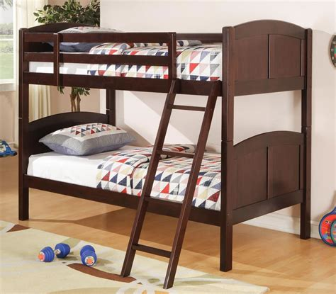 twin over twin full panel bunk bed with optional storage