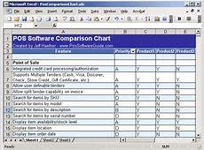 Vendor Comparison Template Excel calendar template excel