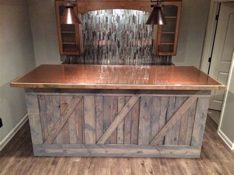 tile backsplash lowes basement bar idea rustic columbus by rick cochran