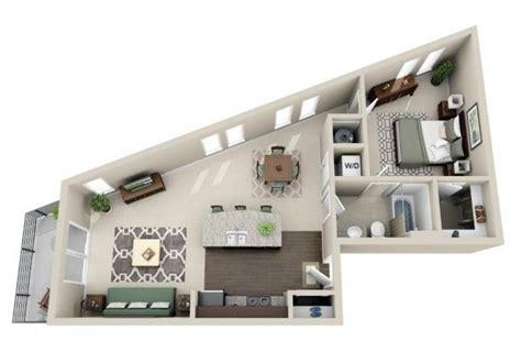 plan chambre 3d 50 plans en 3d d appartement avec 1 chambres apartments