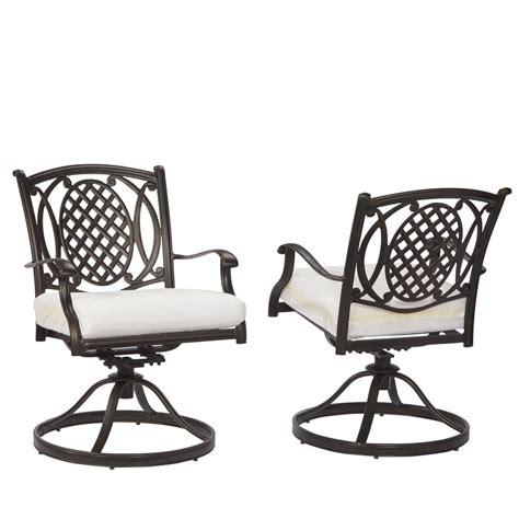 hton bay westbury swivel patio high dining chair 2