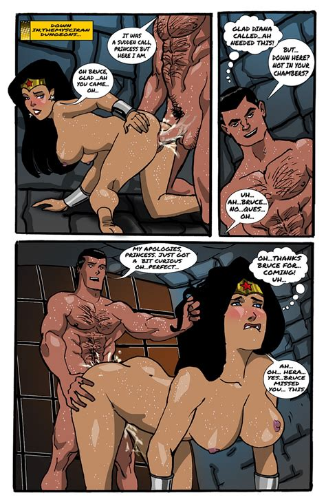 Themysciran Dungeons Diana Bruce Porn Comics Galleries
