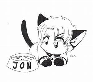 Demon Candy Jon Cat by Lorddragonmaster on DeviantArt