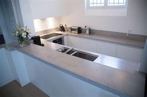 Arbeitsplatte Küche Betonoptik by Arbeitsplatte In Betonoptik F 252 R Ein Modernes K 252 Chen Design