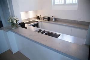 Küche In Betonoptik : arbeitsplatte in betonoptik f r ein modernes k chen design ~ Michelbontemps.com Haus und Dekorationen