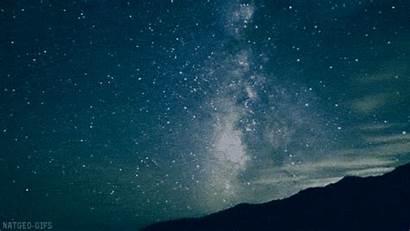 Universe Lapse Stars Gifs Star Shooting