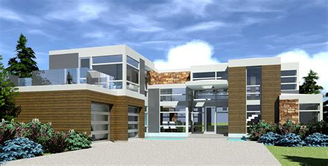 modern ultimate entertaining house plan td