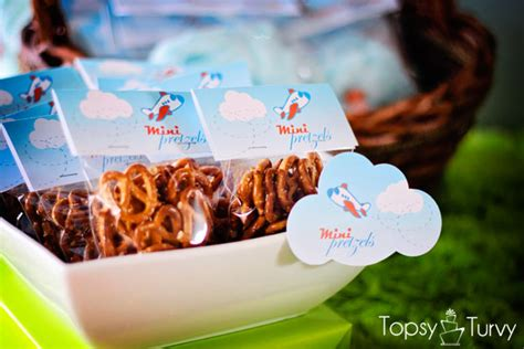airplane baby shower ashlee marie real fun  real food