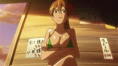 Rei Miyamoto Dead Highschool Anime Bikini Animated