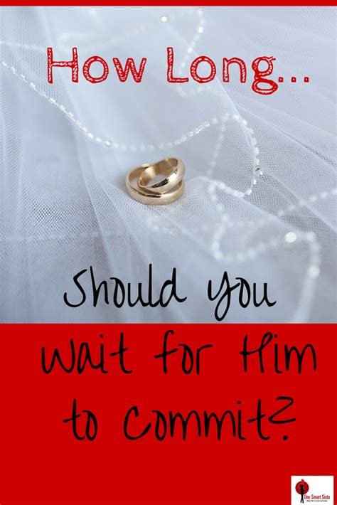 How Long Should You Wait For Him To Commit