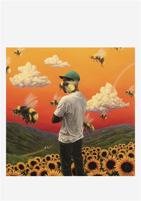 tyler  creator flower boy lp vinyl newbury comics