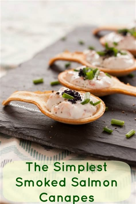 freezable canapes recipe simple delicious smoked salmon canapés fuss
