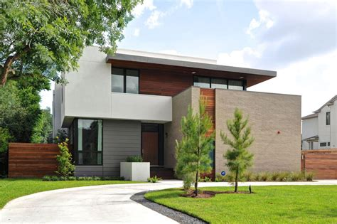 home design firms modern house in houston from architectural firm studiomet