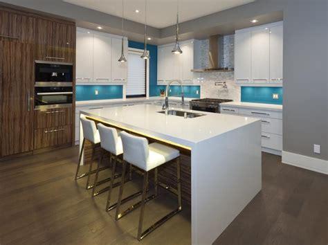 lustre cuisine moderne la couleur tendance 2017 pour vos armoires de cuisine