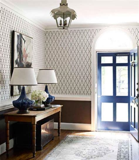 choisir  papier peint de couloir original