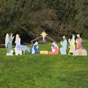 large classic outdoor nativity set full scene outdoor nativity store
