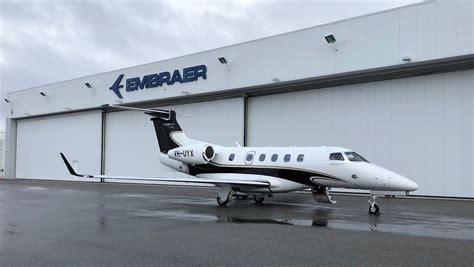 phenom 300e embraer australia vh delivers second uyx