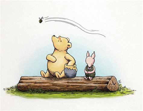 20 Best Classic Pooh Art  Wall Art Ideas
