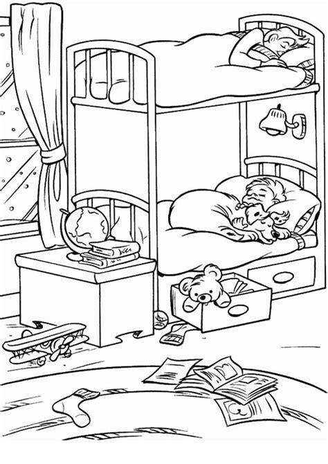 coloriage bureau coloriage chambre les beaux dessins de autres à imprimer