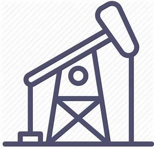 Drill, drilling, gas, oil, petroleum, refinery icon   Icon ...