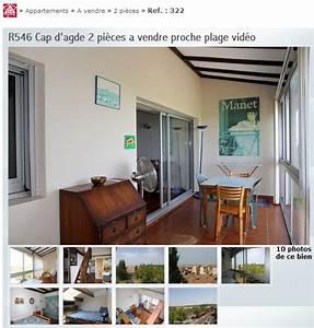 Vente Appartement Cap D Agde : achats ventes au cap d 39 agde quartier plage richelieu 34300 ~ Dailycaller-alerts.com Idées de Décoration