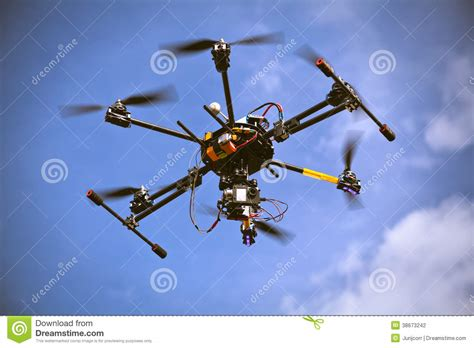 helicopter drone filming video stock photo image  device filming