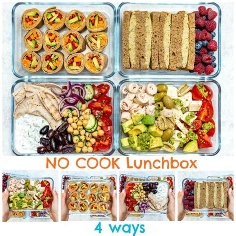 no cook clean lunch boxes 4 creative ways clean 764 | 4 No Cook Cold Lunch Box Recipes by CleanFoodCrush 600x600