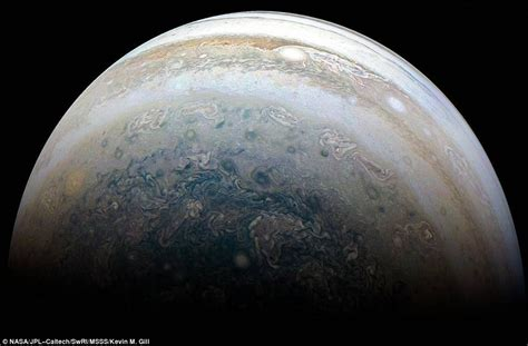Nasa's Juno Probe Reveals Jupiter's Swirling Storms