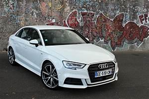 Cote Audi A3 : essai vid o audi a3 berline restyl e 2016 un bien pour une malle ~ Medecine-chirurgie-esthetiques.com Avis de Voitures