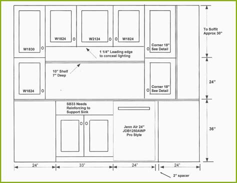 kitchen cabinet design drawing kitchen cabinet dimensions drawings 5228