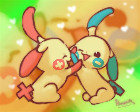 Minun Plusle Love By Hinoraito On Deviantart