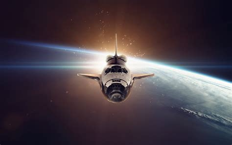 Space Shuttle 5k Retina Ultra HD Wallpaper | Background ...