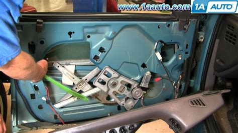 How Replace Front Power Window Motor Dodge
