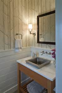 Small Overmount Bathroom Sink by Hutker Architects Bathrooms Woods Wallpaper Small