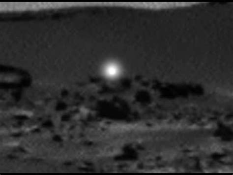Mars Light by Mysterious Moving Light On Mars