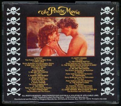 pirate   soundtrack cd kristy mcnichol