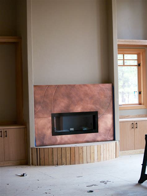 copper fireplaces fireplace copper milo s metal