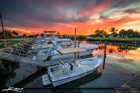 Boat Marina by Boats At Palm Marina Sunset Small Fishing Boats