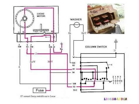 wiper motor wireing