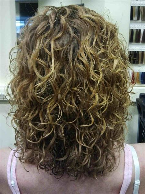 image result   large loose curl perms medium length