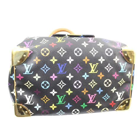 louis vuitton collector multicolor speedy  chic selection