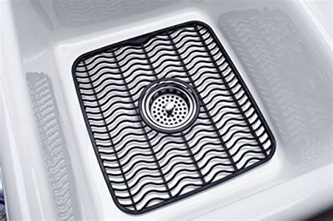 sink protector mat black rubbermaid antimicrobial sink protector mat black waves