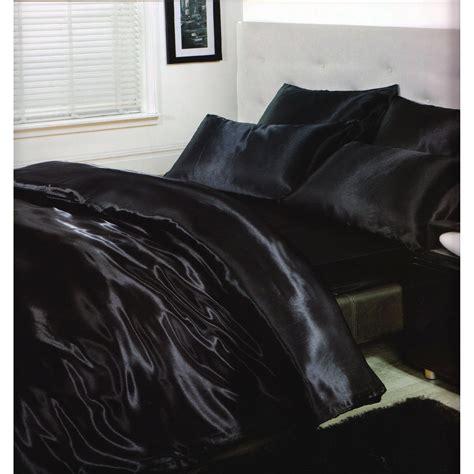 ensemble de literie en satin parure de lit et drap housse ebay