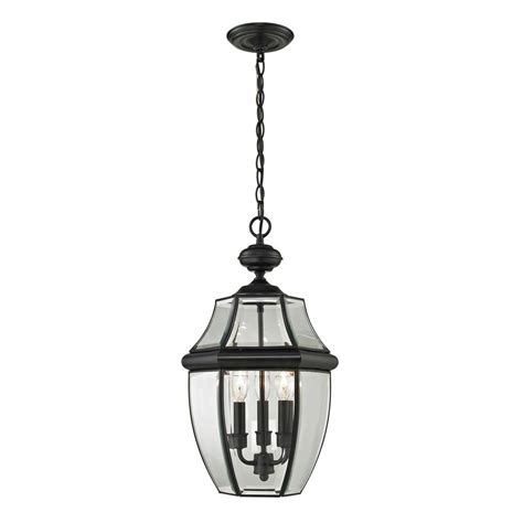 home depot outdoor hanging lights feiss wembley park collection 3 light textured black