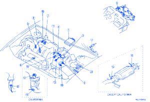 mazda 626 2000 electrical circuit wiring diagram 187 carfusebox