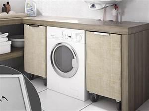 Installer Un Plan De Travail : bien int grer sa machine laver dans son int rieur elle d coration ~ Melissatoandfro.com Idées de Décoration