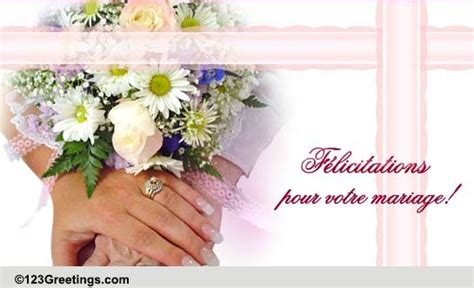 wedding wishes  french    world ecards greeting cards